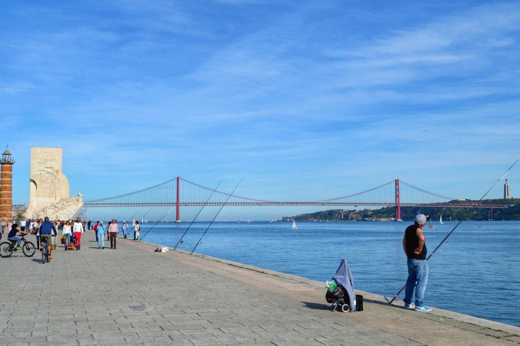 Ponte 25 avril - Lissabon