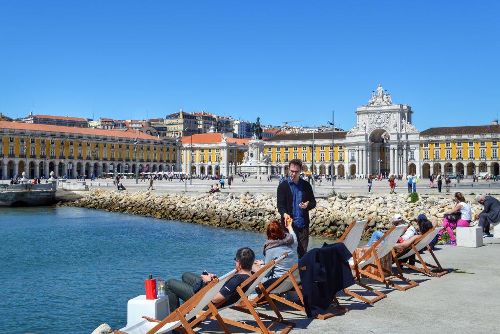 Paleisplein Lissabon
