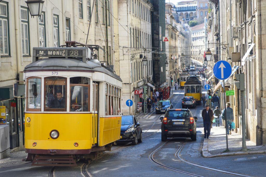 TRam 28 - Lissabon