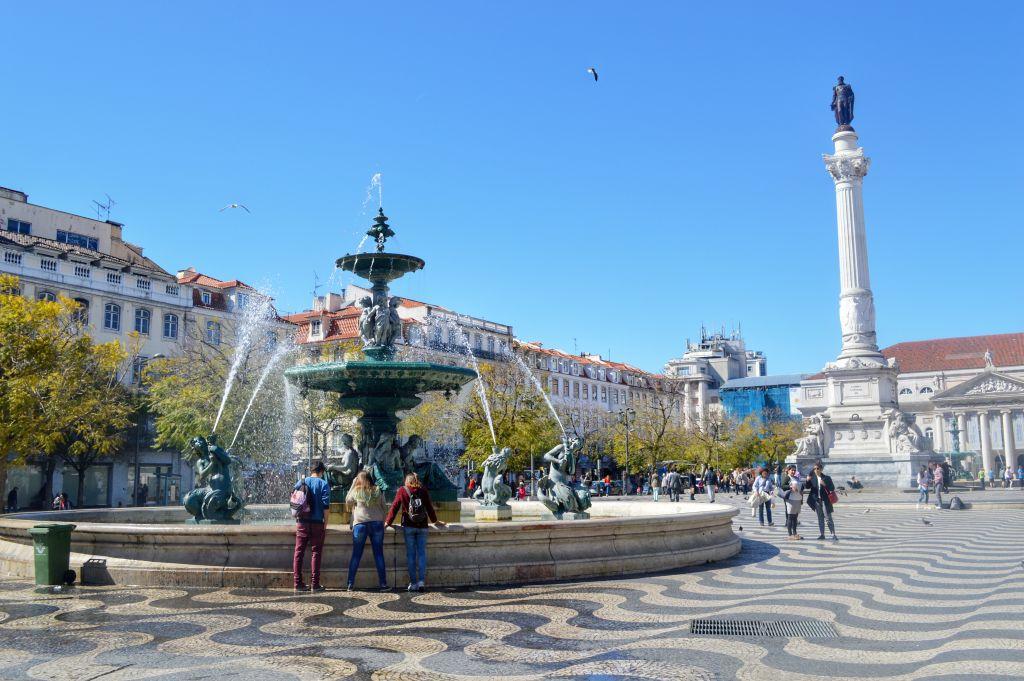 Rossio Lissabon