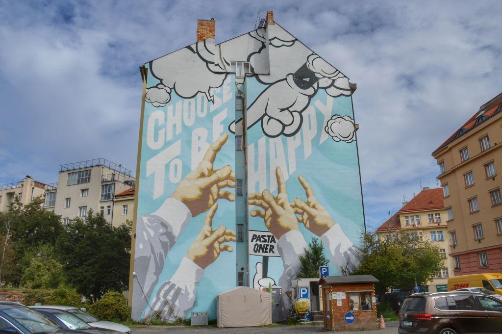 Streetart Praag
