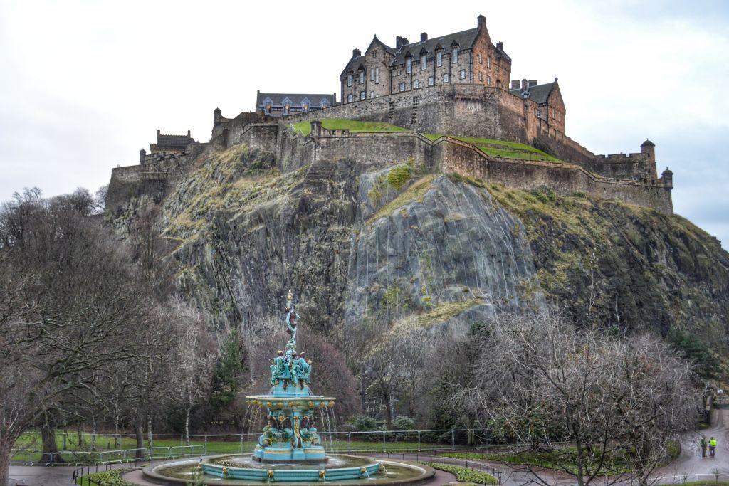 Kasteel Edinburgh Castle