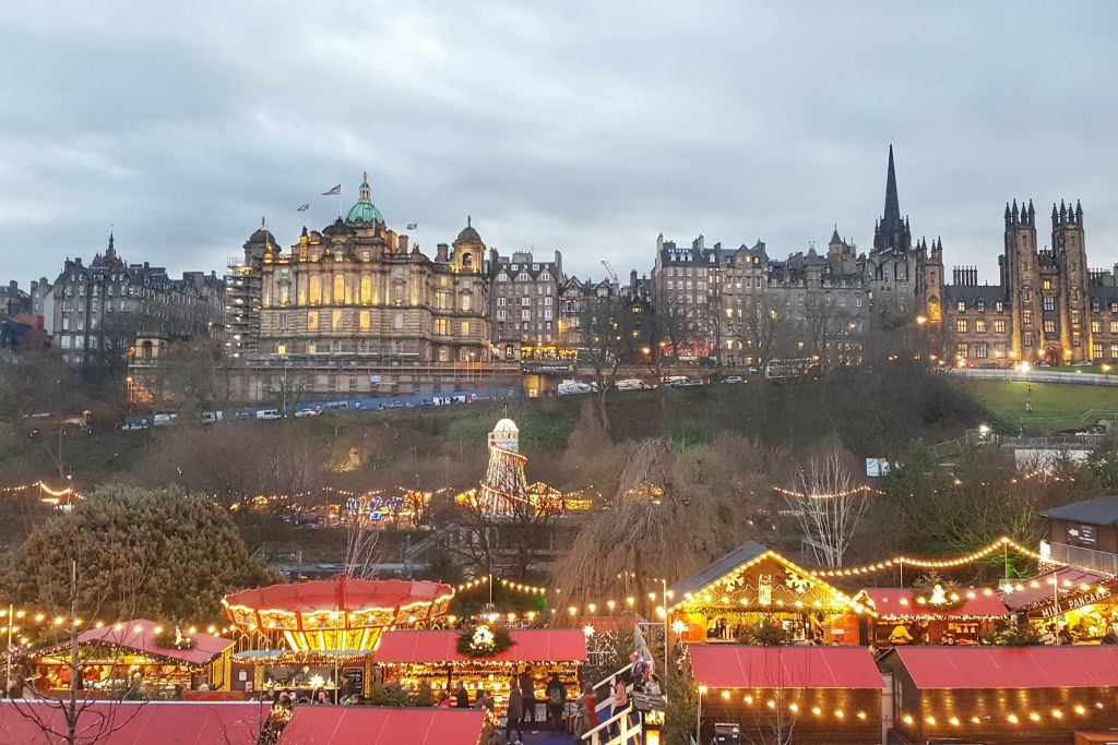 Christmas Market Edinburgh