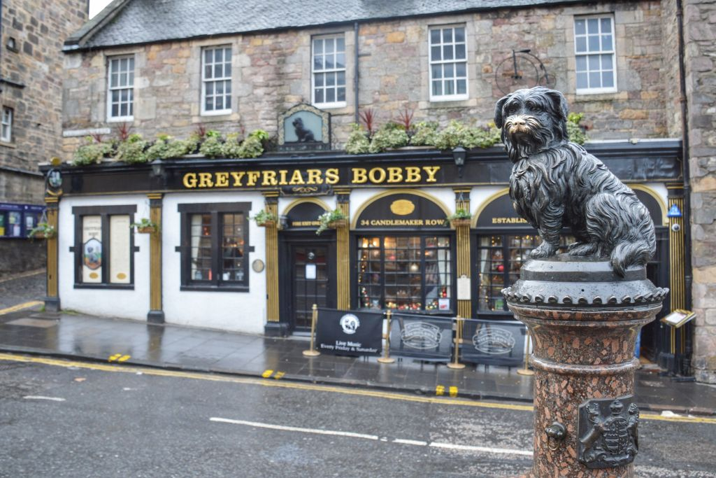 Greyfriars Bobby Bar Edinburgh