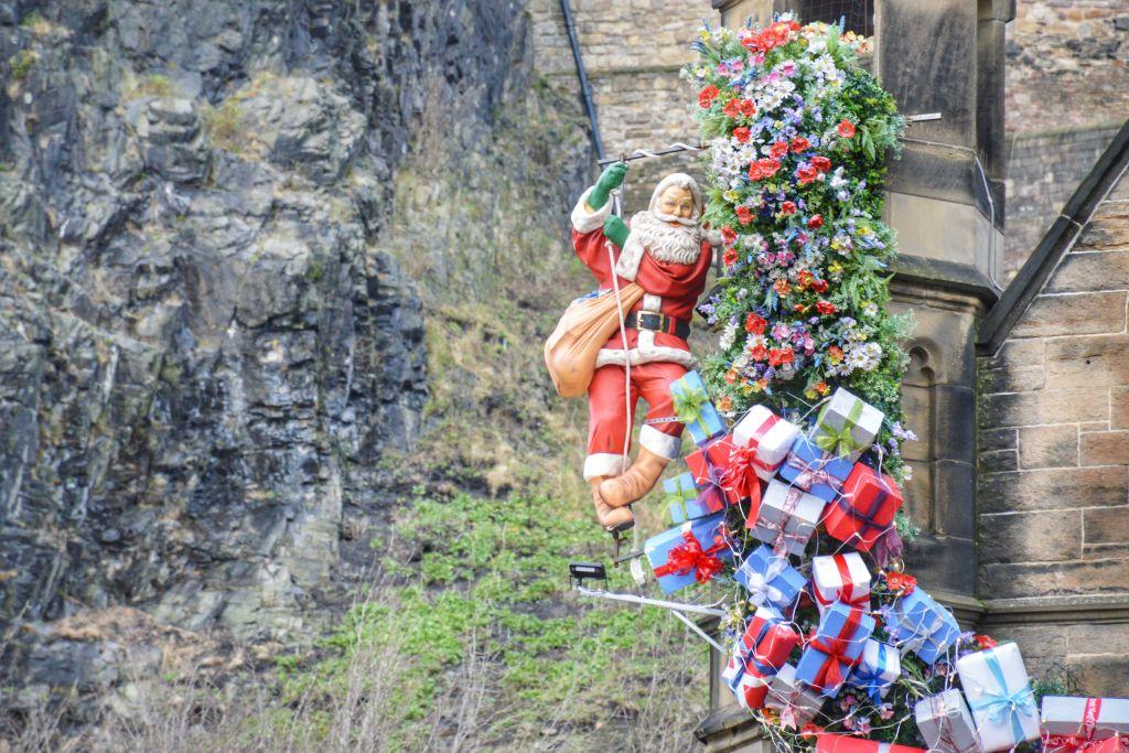 Kerst in Edinburgh