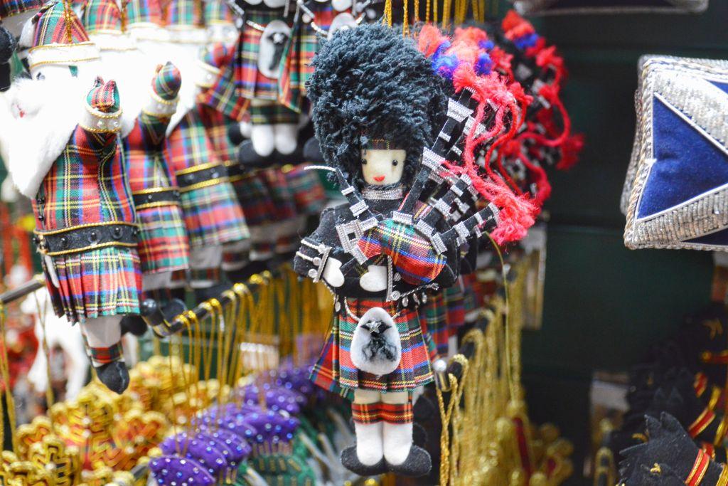 Schotse kerstdecoratie