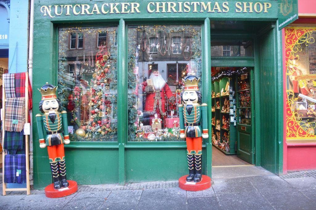 Kerstwinkel Edinburgh