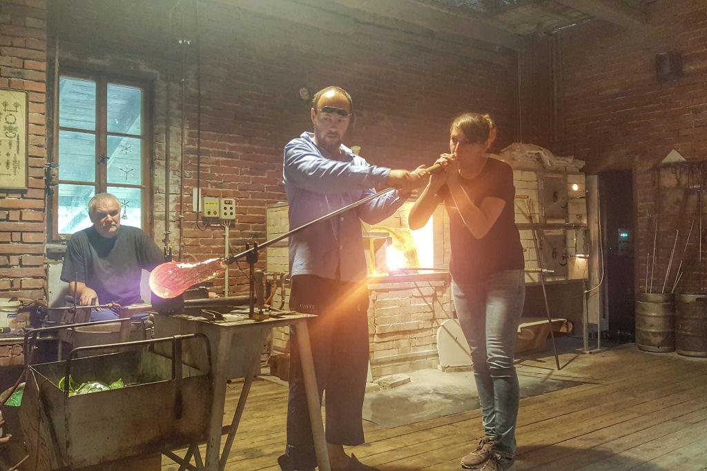 Glasfabriek Ajeto - Noord-Bohemen