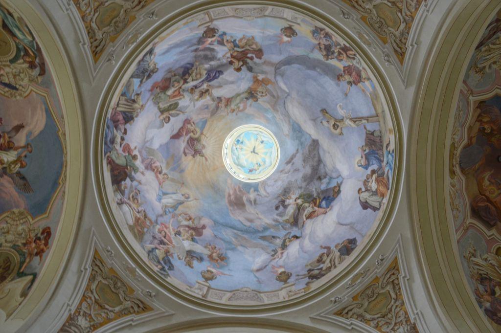 Plafond kerk Hejnice