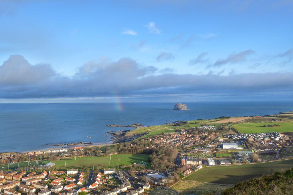 Uitzicht op Bass Rock, North Berwick