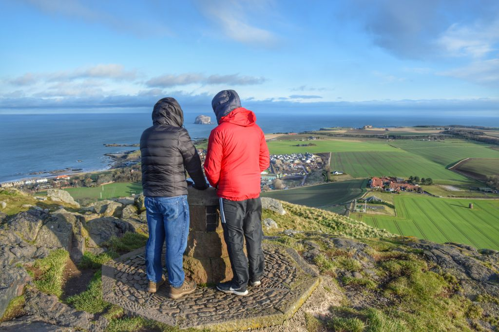 Uitzicht North Berwick Law