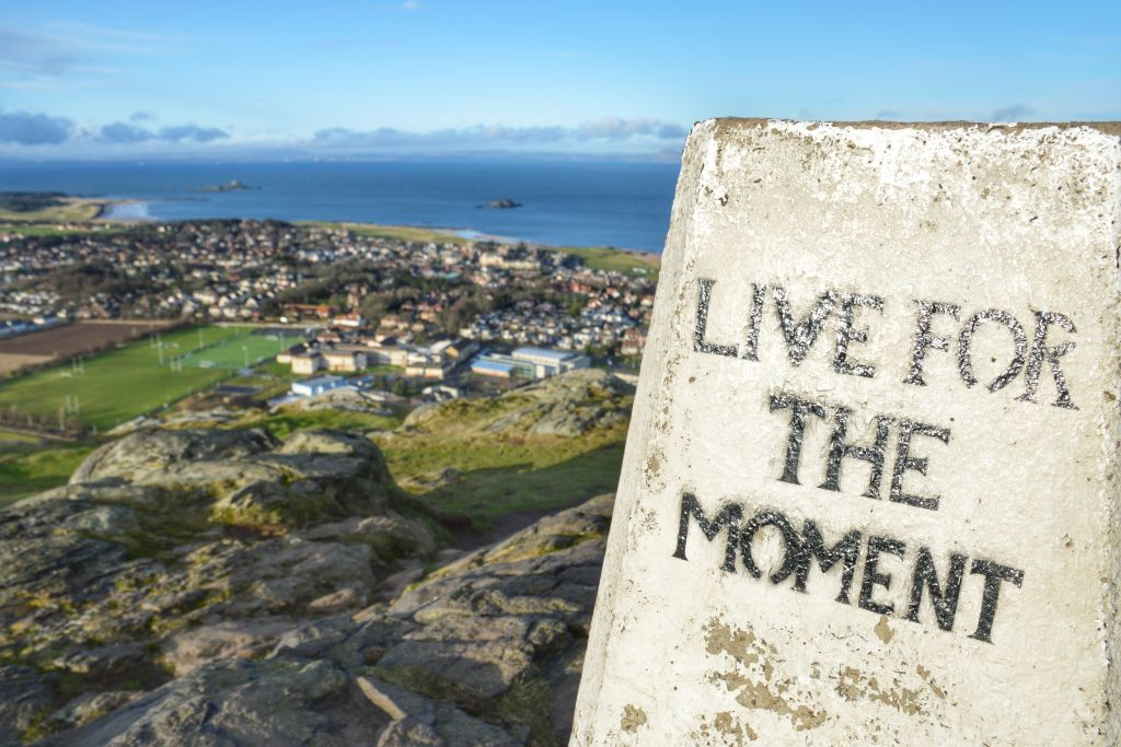 Live for the moment - North Berwick