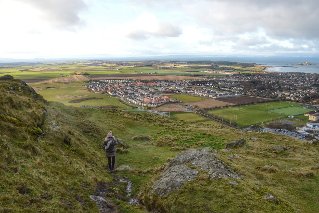 North Berwick Law beklimmen