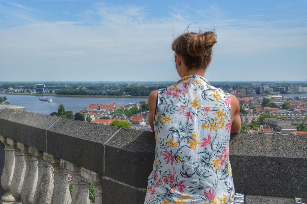 Uitzicht vanaf Grote Kerk Dordrecht