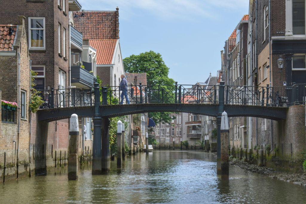 Dordrecht vanaf het water