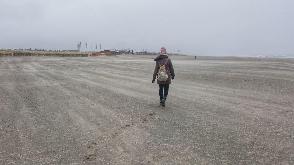 strandwandeling Katwijk aan Zee