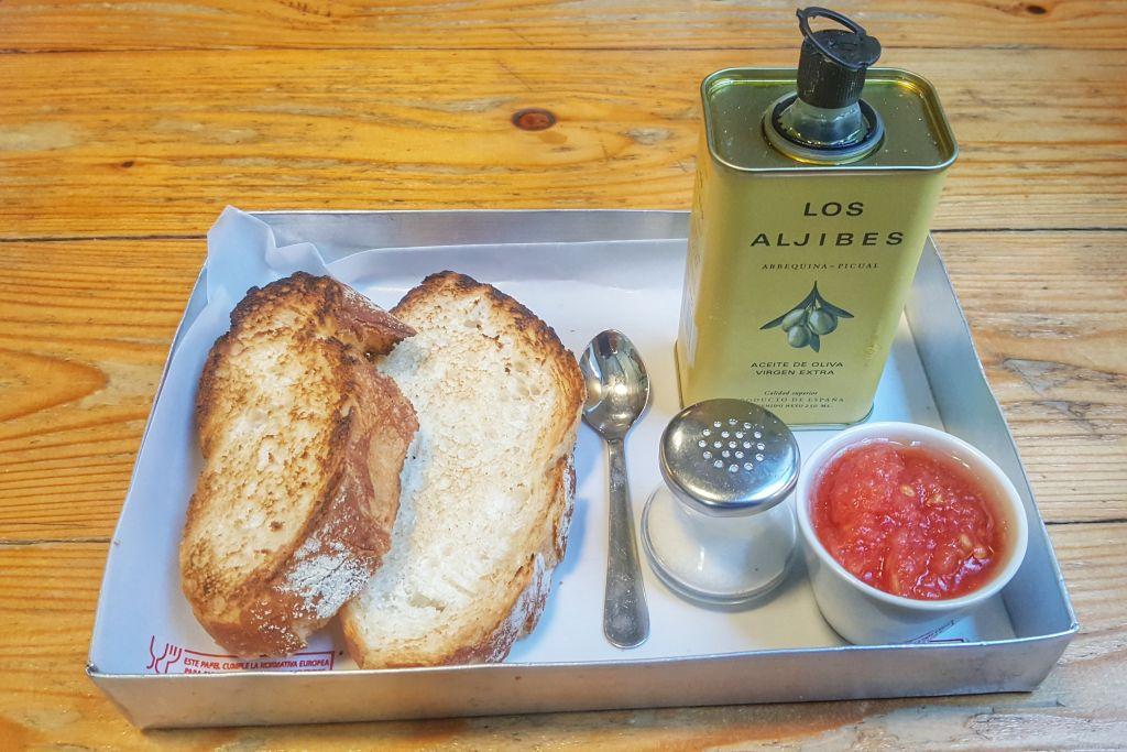 Pan con tomate Valencia