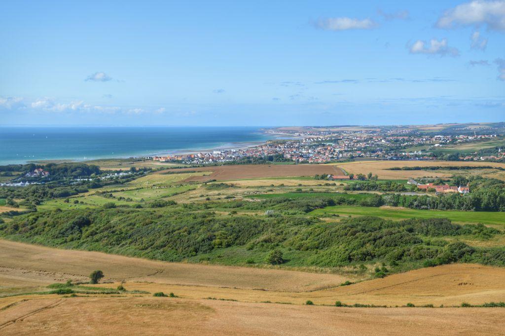 Uitzicht Opaalkust- Frankrijk