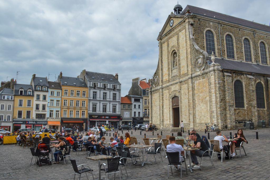 Boulogne-sur-Mer Opaalkust Frankrijk