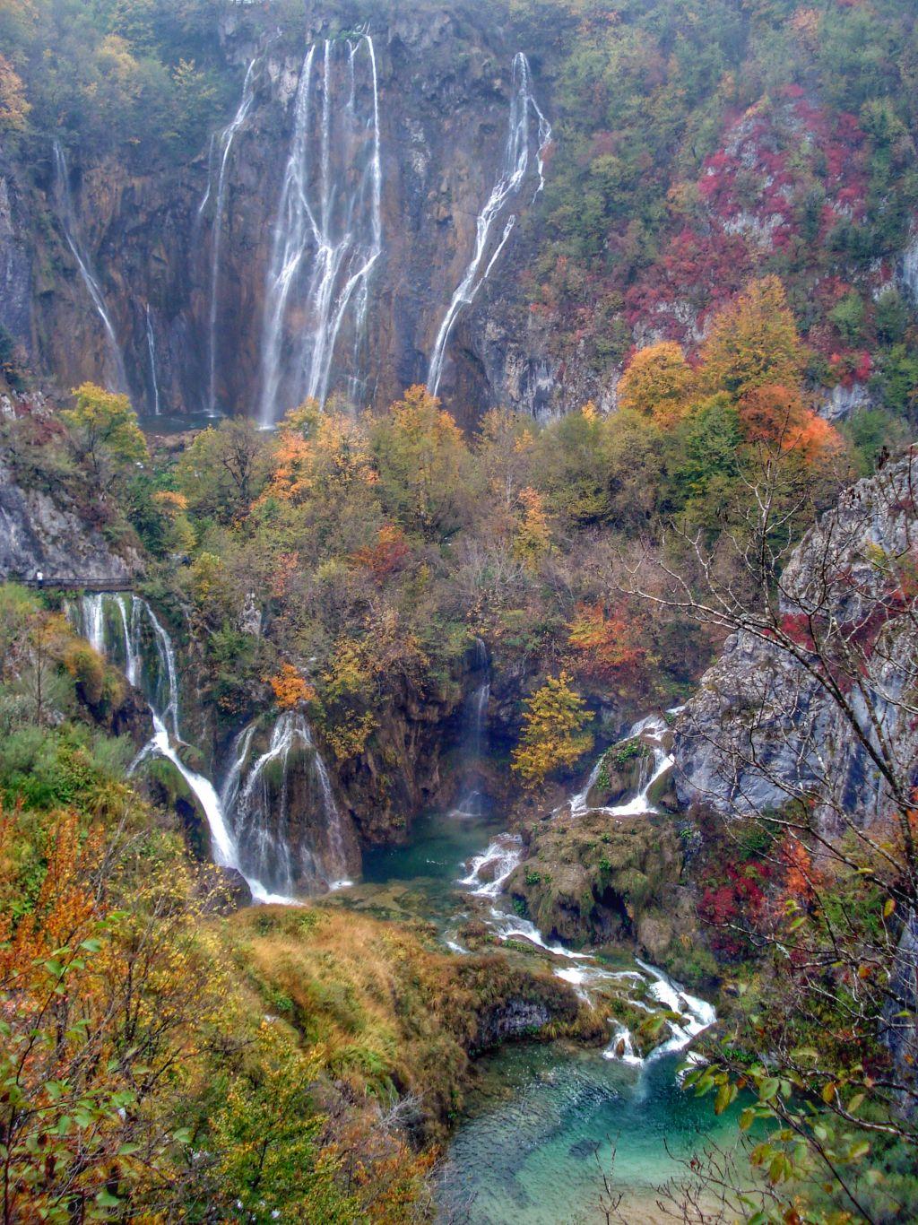 Plitvice meren - Kroatië