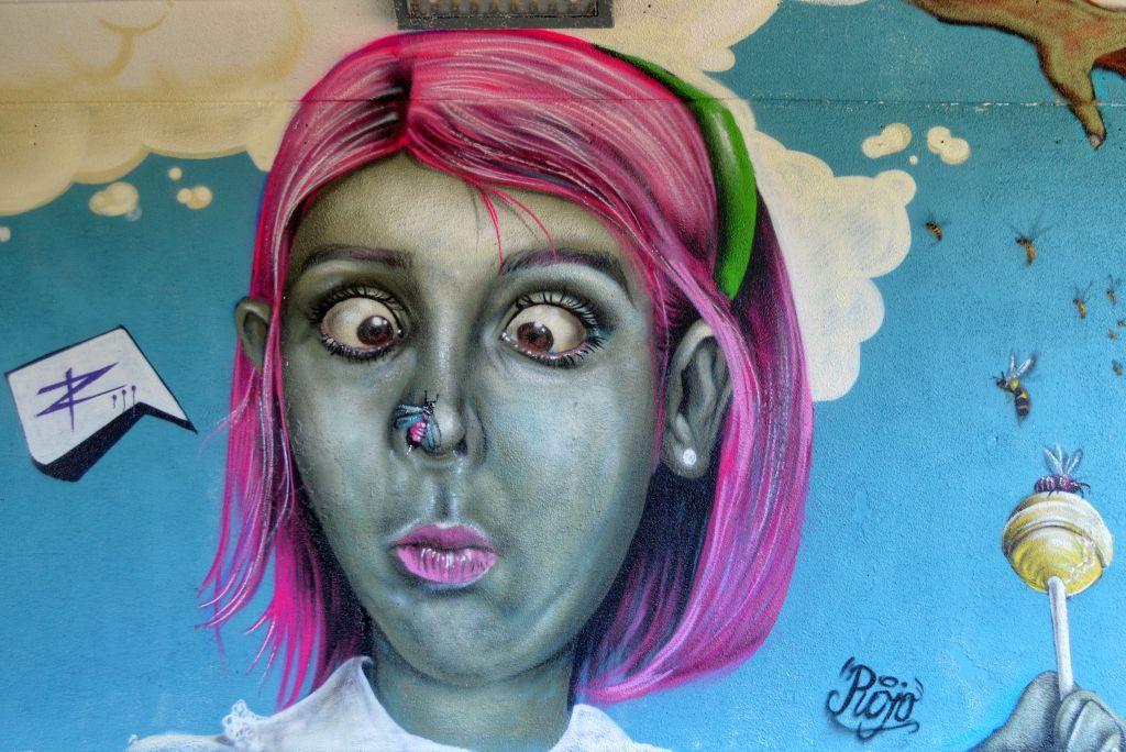 Keesomtunnel Ede Street art
