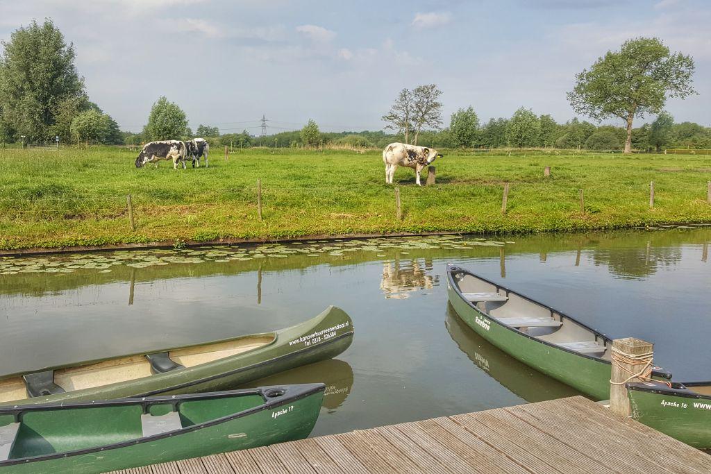 Kanoën Valleikanaal Veenendaal