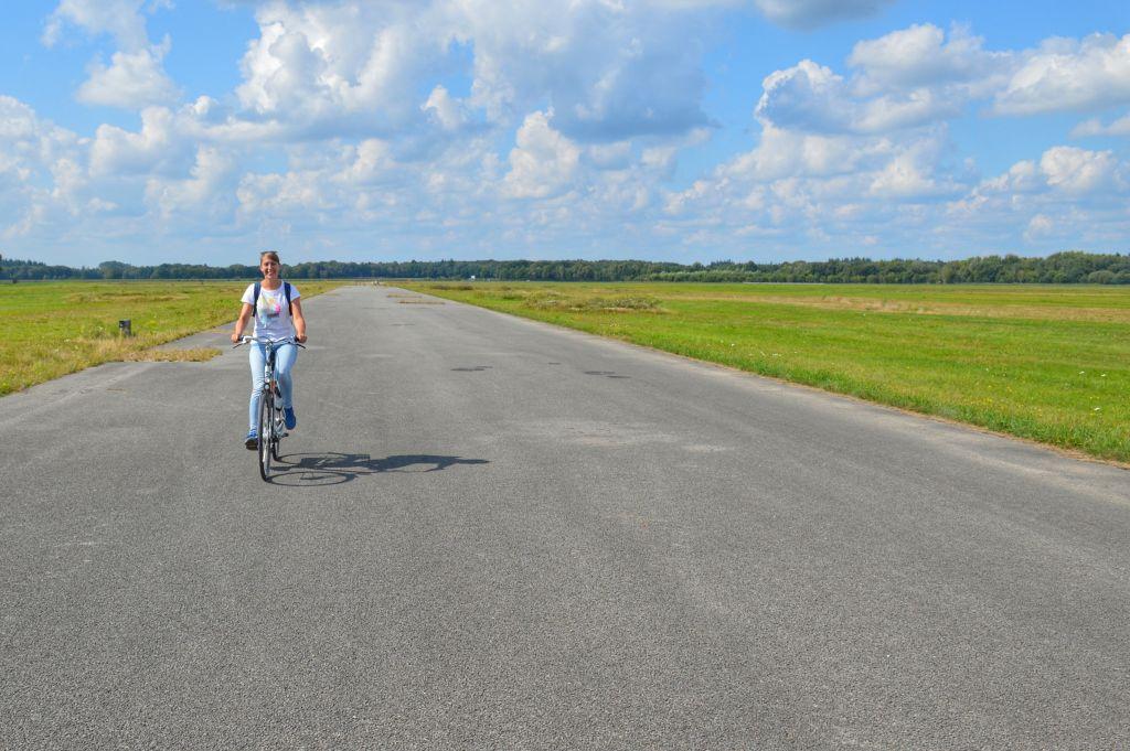 Fietsen Vliegbasis Twente