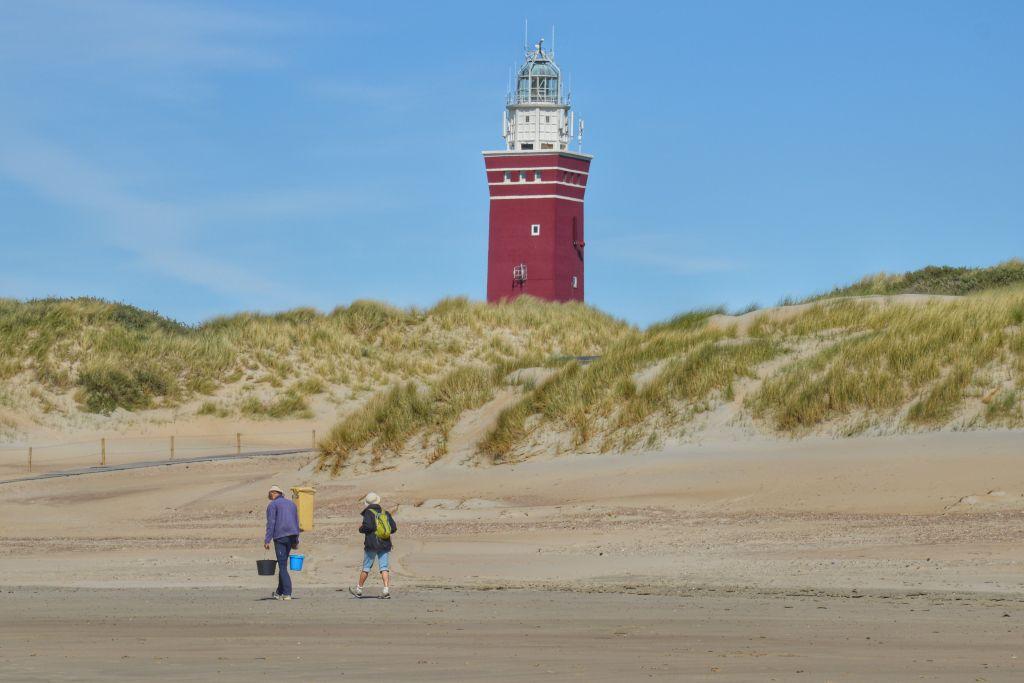 Strand Ouddorp - Vuurtoren Westhoofd