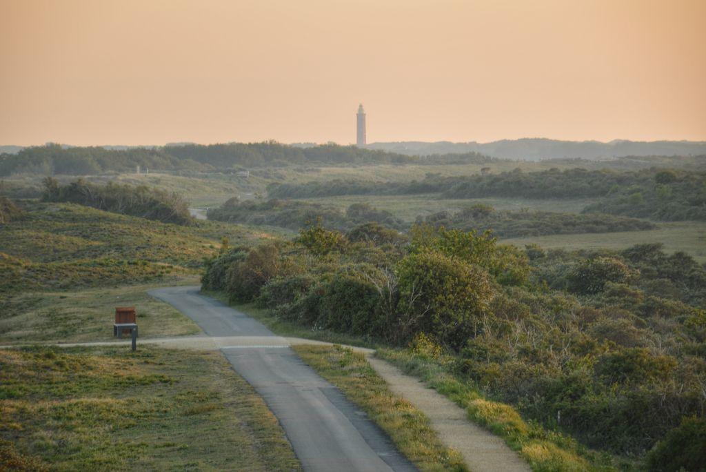 Uitzicht duinen van Goeree - uitkijktoren Ouddorp