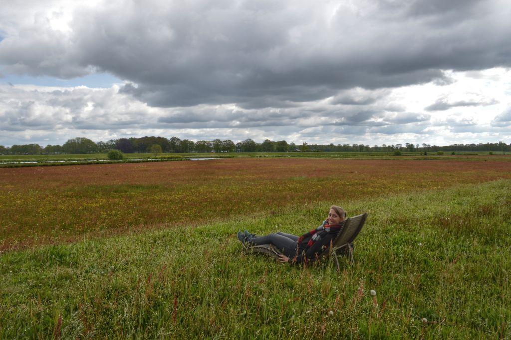 Boerhoes Dalfsen- de dijk aan de Vecht