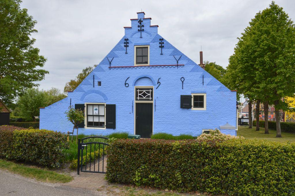 Blauwe huis, vvv-kantoor Goeree-Overflakkee in Ouddorp