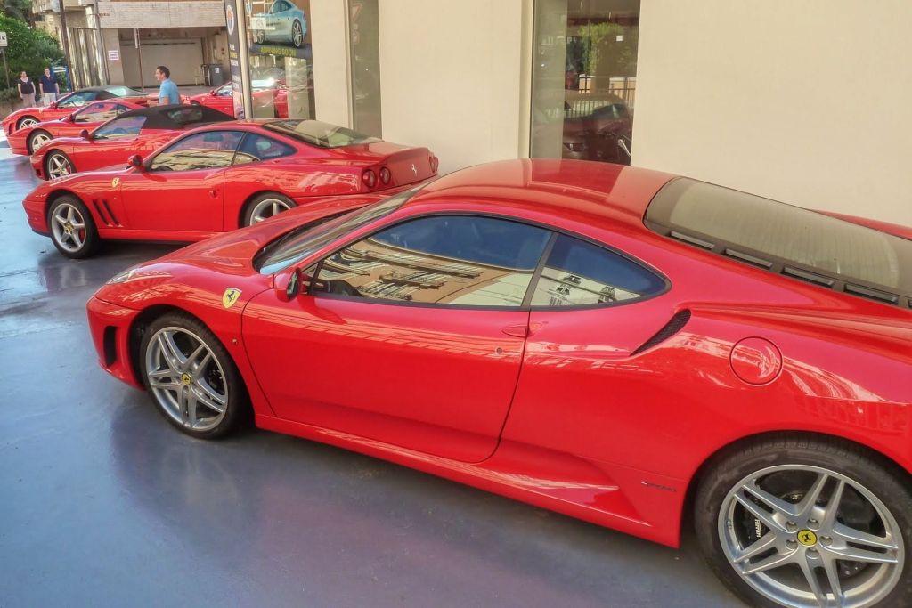 Ferrari dealer Monaco