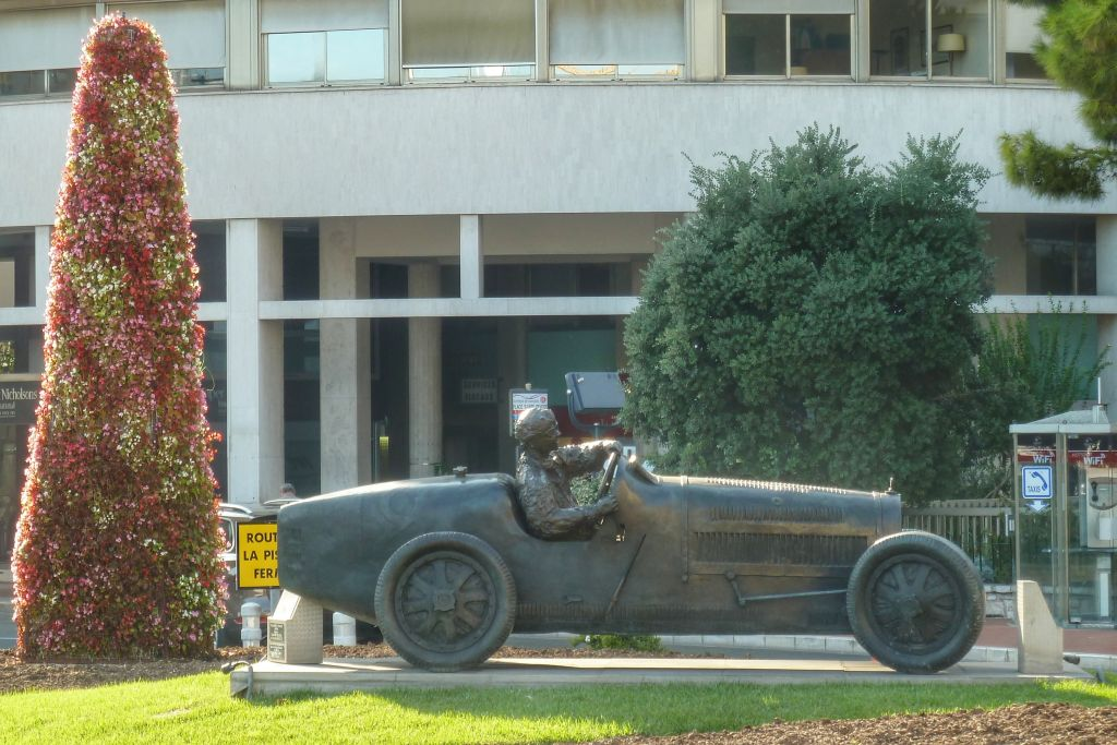 Formule 1 auto Monaco