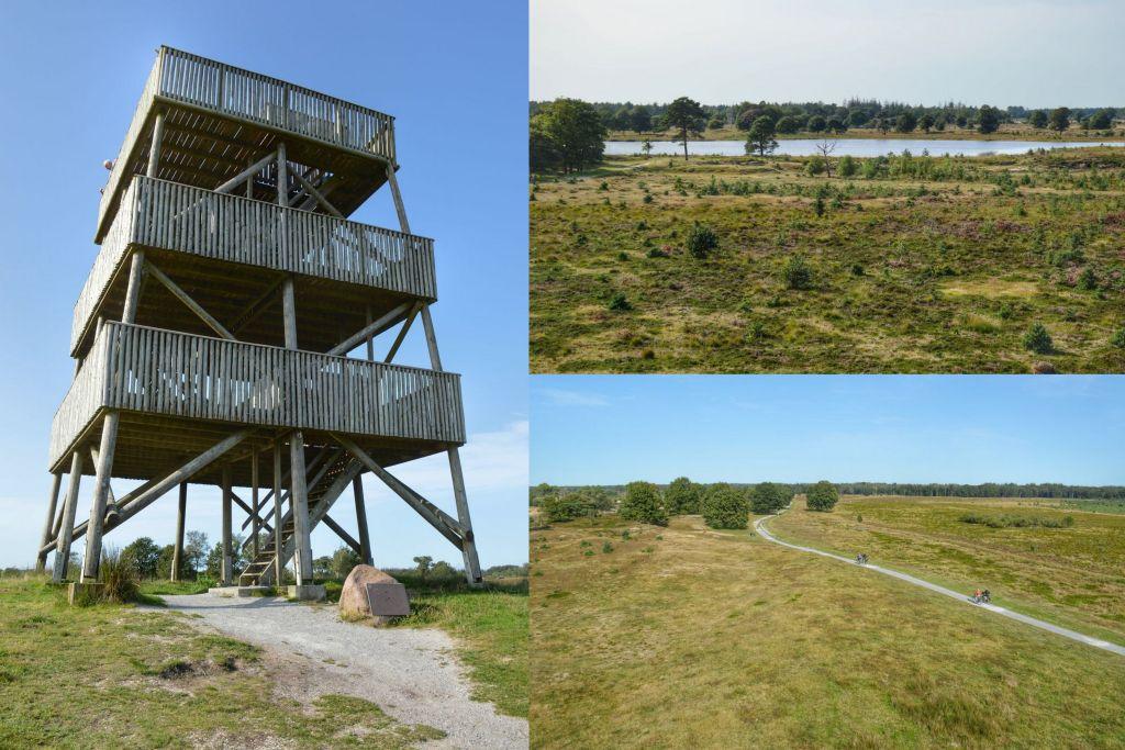Uitkijktoren Aekingerzand - De Kalen duinen