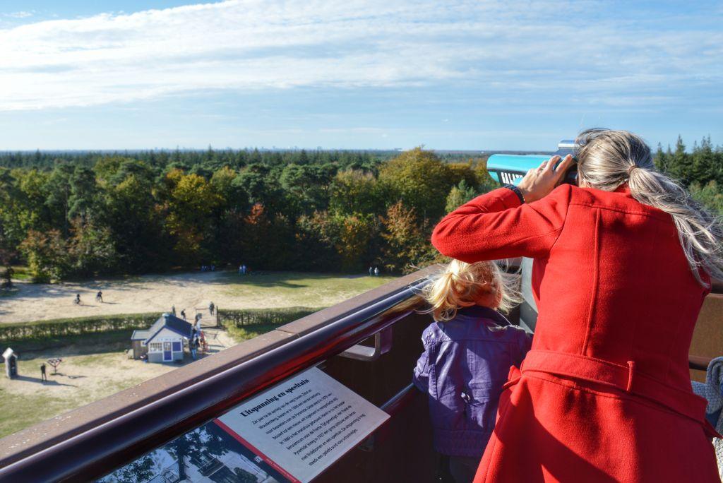 Uitzicht Pyramide van Austerlitz