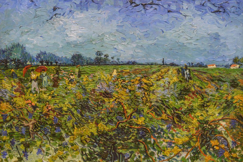 De groene wijngaard - Vincent van Gogh
