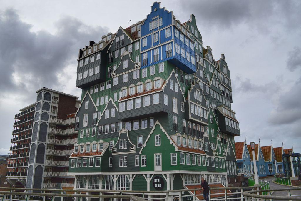 Zaanse huisjes hotel in Zaandam