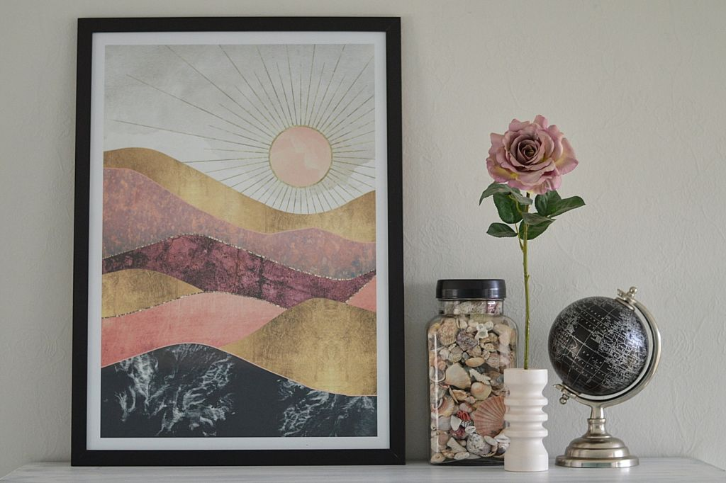 Blush Sun poster