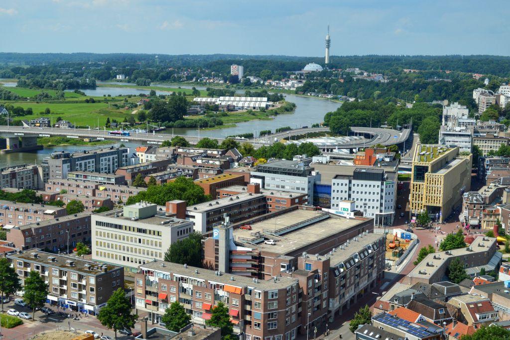 Uitzicht Eusebiuskerk Arnhem