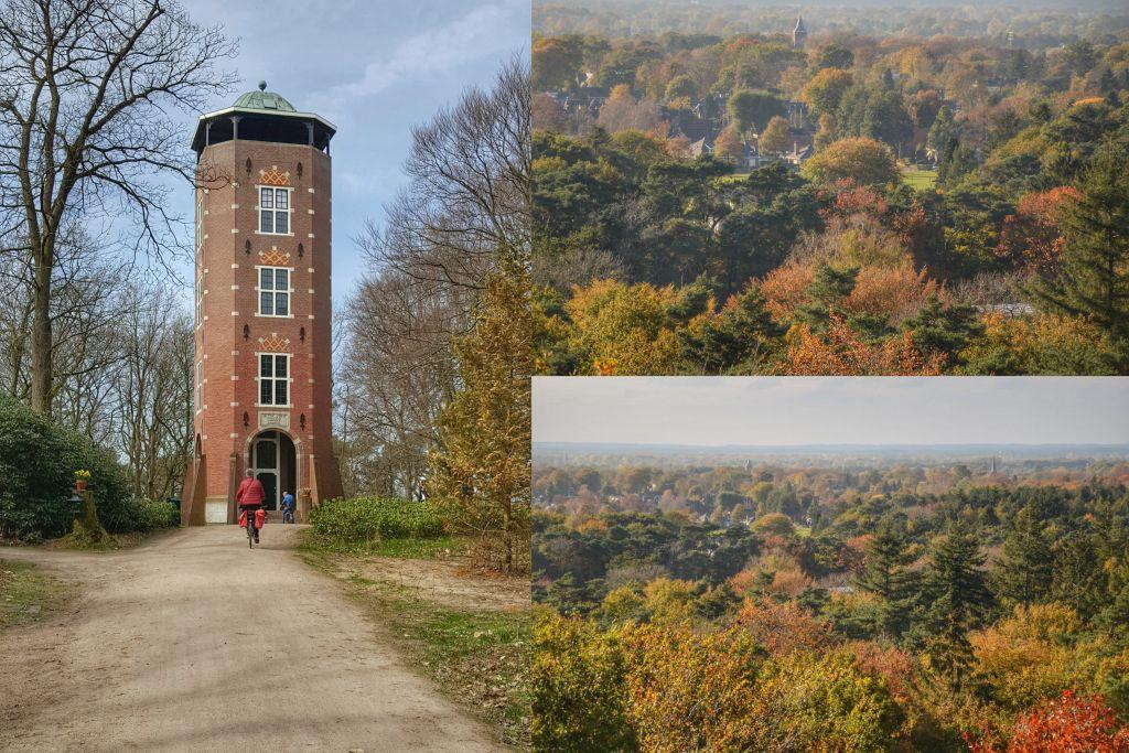Uitzichtpunt op de Veluwe: uitkijktoren de Koepel