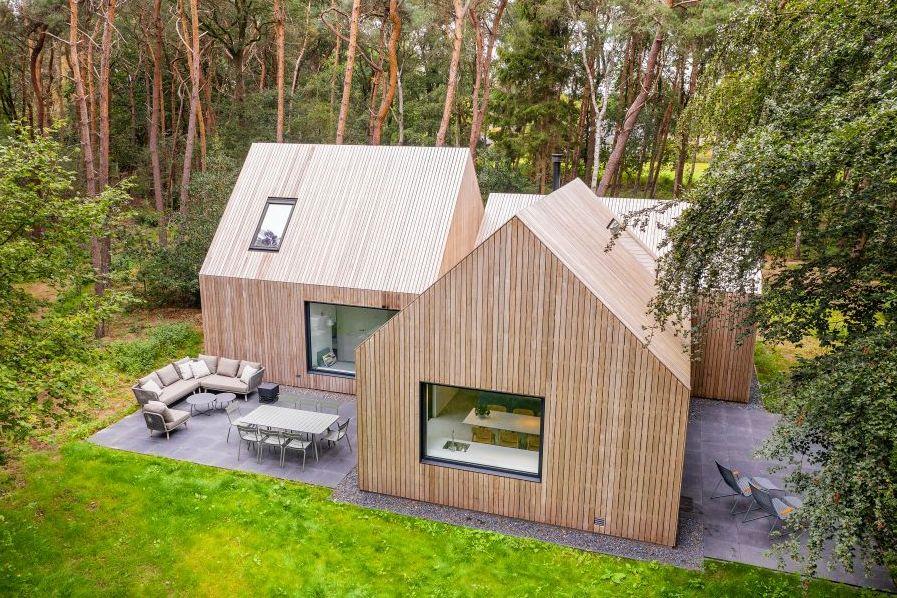 Vakantiehuis in het bos