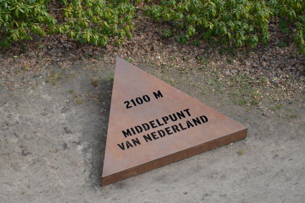 Middelpunt van Nederland - Lunteren