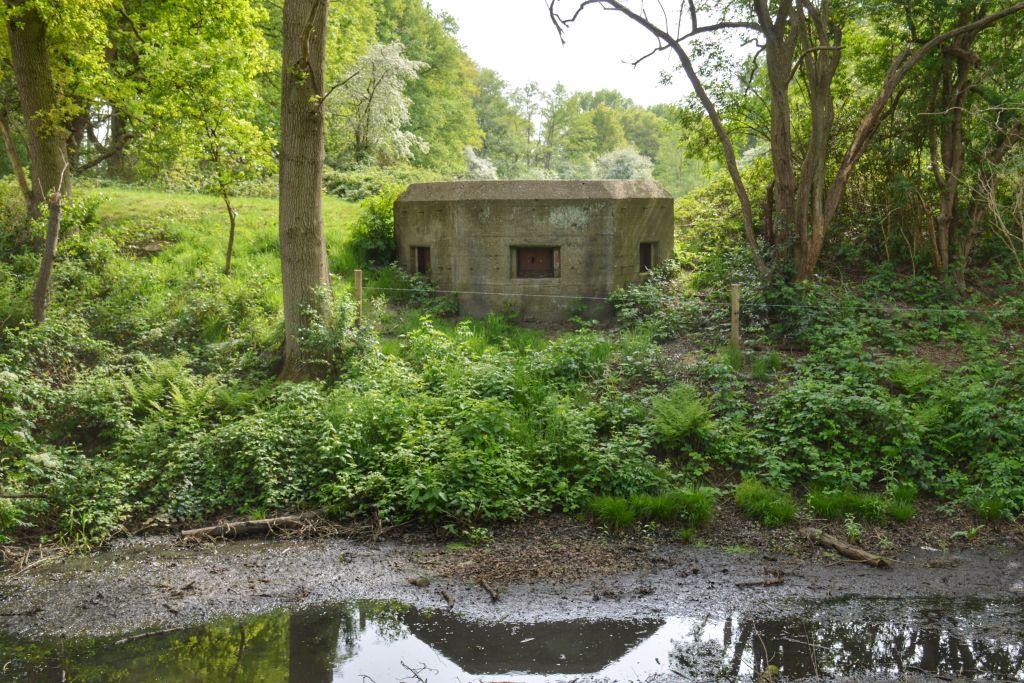 Verscholen bunkers Grebbelinie Renswoude