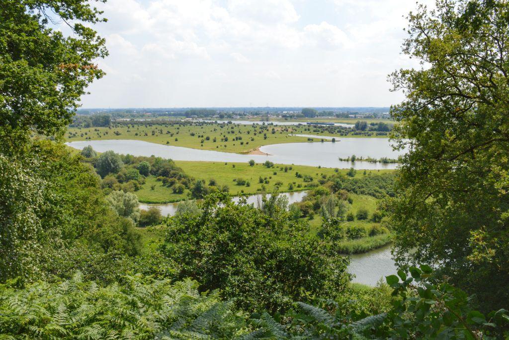Wandelroutes Grebbelinie: uitzicht vanaf Grebbeberg