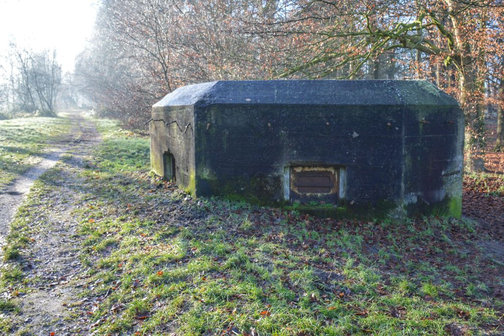 Bunker op de Liniedijk in Woudenberg