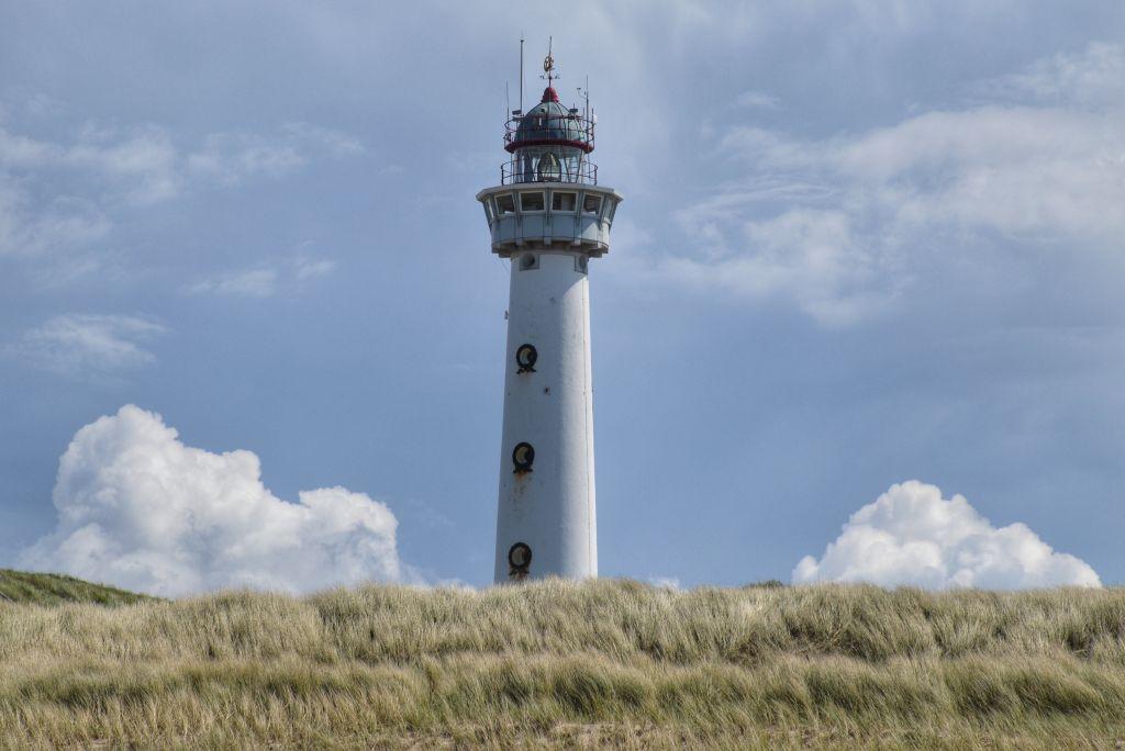 De vuurtoren van Egmond aan Zee