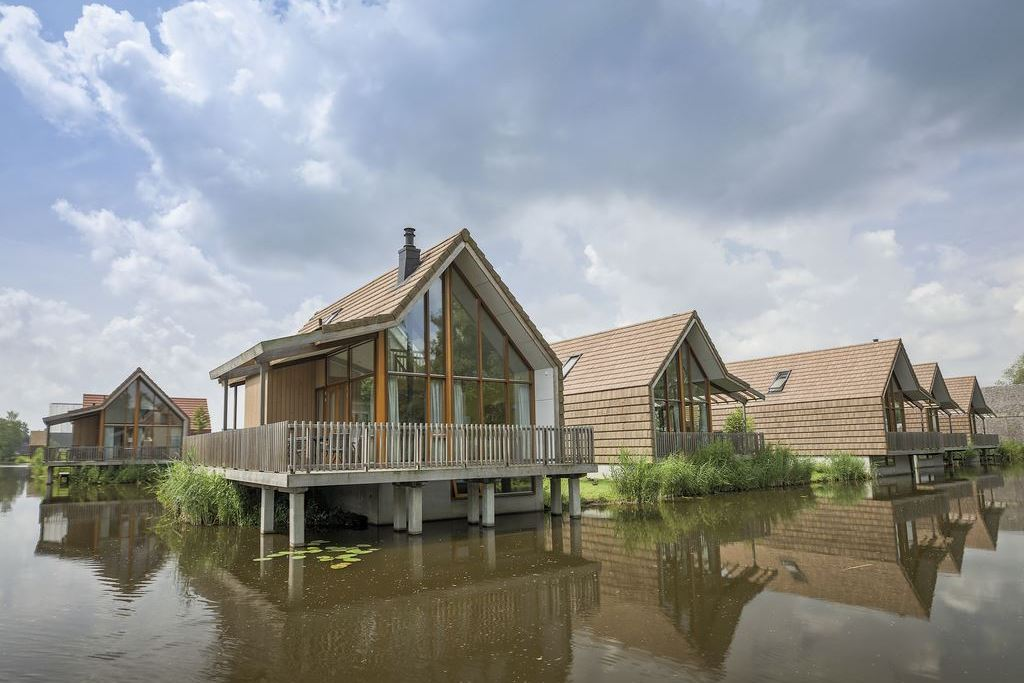 Vakantiehuisjes aan het water bij Landal Reeuwijkse Plassen
