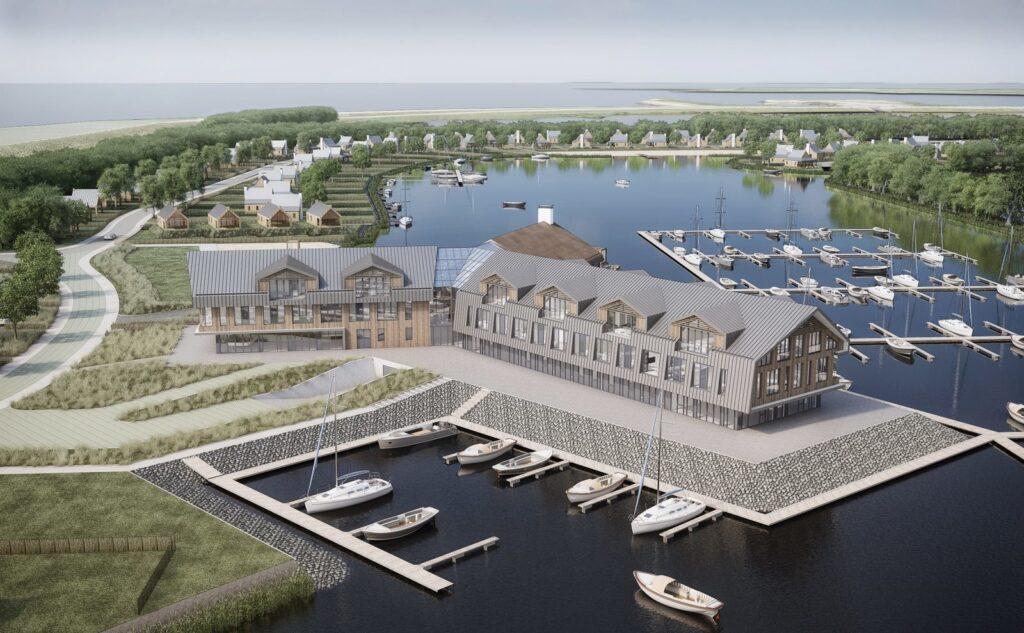 Vakantiehuisjes aan het water in Zeeland