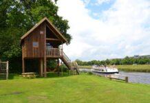 Mooie vakantiehuisjes aan het water