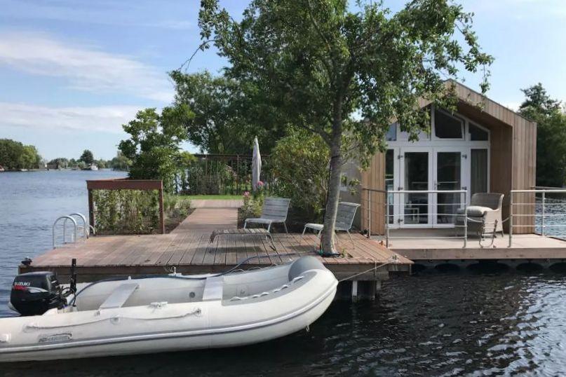 Vakantiehuisje aan het water - Vinkeveense Plassen